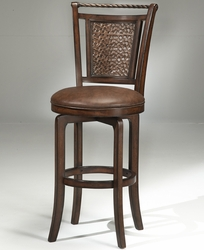 Hillsdale Hammered Copper Back Norwood Swivel Counter Stool - click to enlarge