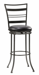 Hillsdale Holland Champagne Finish Swivel Bar Stool - click to enlarge