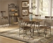 Hillsdale 415 Wood Series - Montello Dining Set with Round Dining Table