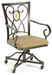 Hillsdale Brookside Caster Chairs - Set Of 2 - 4815-804
