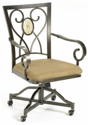 Hillsdale Brookside Caster Chairs - Set Of 2 - 4815-804 - click to enlarge