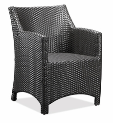 Zuo Mykonos Chocolate Aluminum Frame Chair with Chocolate Finish– 701150 - click to enlarge