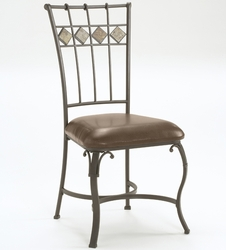 Hillsdale Lakeview Dining Chair with Brown Seat - Set Of 2 - click to enlarge