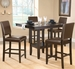 Hillsdale Arcadia 5-Piece Counter Height Dining Set