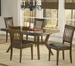 Hillsdale Arbor Hill Dining Set with 4 Side Chairs- 4232DTBC