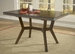 Hillsdale Arbor Hill Colonial Chestnut Extension Dining Table - 4232-814