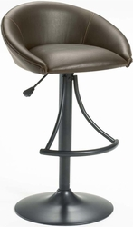 Hillsdale Oxford Adjustable Stool with Brown Vinyl Upholstery - 4274-831 - click to enlarge