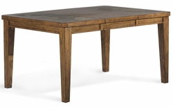 Riverside Harmony Antique Oak Rectangular Dining Table - click to enlarge