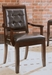 American Drew Tribecca Leather Dining Chair - Set of 2