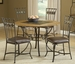 Hillsdale Lakeview Dining Set with Round Table