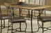 Hillsdale Lakeview Dining Table with Slate Shelf