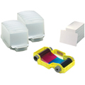 Magicard PCF6 100 blank PVC cards in dispensers plus 100 images YMCKO dye film cassette.   For use with ALTO Printer.