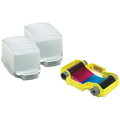 Magicard PCX-PF2 Qty 2 empty 50 card dispensers for customer loading of technology cards plus 100 shot YMCKO dyefilm cassette.  For use with Alto Printers.