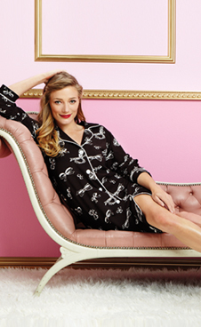 black bows nightshirt