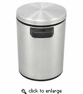 Infrared Hands Free 1.3 Gal Trash Can