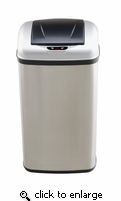 Touch Free Infra-Red DZT507 13.2 Gallon Trash Can