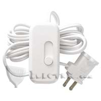 Lutron TT-300H Credenza Incandescent / Halogen Plug-In Lamp Dimmer