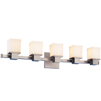Hudson Valley 4445 Milford Five Light HALOGEN Bath Vanity Fixture