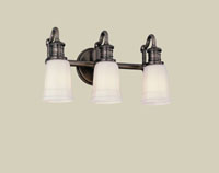 Hudson Valley 2503 Bradford Three Light Bath Vanity