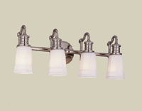 Hudson Valley 2504 Bradford Four Light Bath Vanity