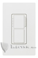Lutron MA-S6AM-277 Maestro Incandescent/Halogen, Magnetic Low-Voltage, Electronic Low-Voltage, Non-Dim Fluorescent Ballasts, Non-Dim LED Drivers and General Purpose Fan/Digital Switch