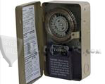 TORK 8007L DUTY CYCLE 24 HR TIME SWITCH WITH RESERVE POWER: SPDT, 120V