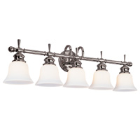 Hudson Valley 5105 Henderson Five Light Bath Vanity