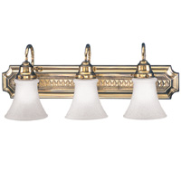 Hudson Valley 5013 Classic Three Light Bath Vanity