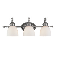 Hudson Valley 3043 Stockton Three Light Bath Vanity