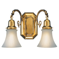 Hudson Valley 1542 Bracket Gallery Two Light Bath Vanity