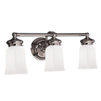 Hudson Valley 1373 Brentwood Three Light Bath Vanity