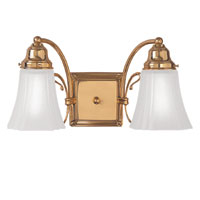Hudson Valley 478 Bracket Gallery Two Light Bath Vanity