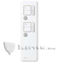 Lutron MIR-ITFS-LF-WH Maestro IR Remote Control for Fan/Light