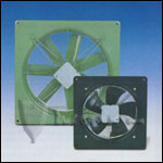 "Fantech FADE 18-4WHD Low Silhouette Axial Fans with Assembled Housing and Damper 18"" Impeller, 4115 CFM, 115V/1 phase/60 Hz"