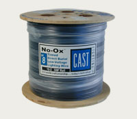 CAST 8-2 No-Ox Tin-Coated MARINE GRADE Low Voltage Landscape Wire Cable, 500 Foot Roll