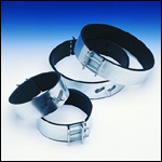 Fantech FC Series Mounting Metal Clamps for Round Duct