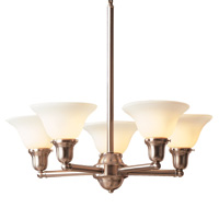 Hudson Valley 585 Edison Five Light Chandelier
