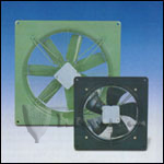 "Fantech FADE 20-4WHD Low Silhouette Axial Fans with Assembled Housing and Damper 20"" Impeller, 4949 CFM, 115V/1 phase/60 Hz"