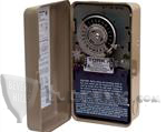 TORK 1847AZL, MOMENTARY CONTACT TIME SWITCH: WITH RESERVE POWER, ASTRONOMIC, 120V