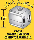 Corona CX-839 UNIVERSAL Cable Connector