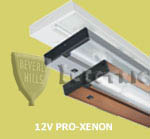"Juno UPX109 PRO XENON Under Cabinet Light: 9"" One-Lamp"