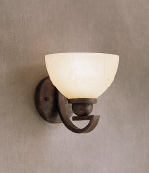 Kichler Lighting 6340TZ Bath Brackets Transitional Wall Mount Bath, Tannery Bronze