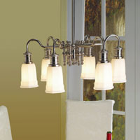 Hudson Valley 2506 Bradford Six Light Chandelier