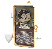 TORK 7202Z ASTRONOMIC TIME SWITCH: WITH SKIP-A-DAY FEATURE: DPST, 208-277V