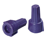 Ideal 30-165 Copper to Aluminum Purple Wire Nuts (Card of 25)