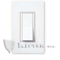 Lutron CA-1PSNL Claro Single-Pole Switch w/ Night Light