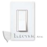 Lutron CA-4PSNL Claro 4-Way Switch w/ Night Light