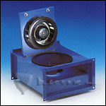 Fantech FRD12-6 Inline Rectangle Centrifugal Fan, Galvanized Steel Housing 309 CFM