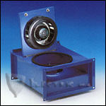 Fantech FRD16-8 Inline Rectangle Centrifugal Fan, Galvanized Steel Housing 560 CFM