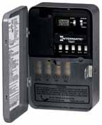 Intermatic ET173C 7 DAY 30 AMPS 120 VAC 2 SINGLE ELECTRONIC TIME SWITCH